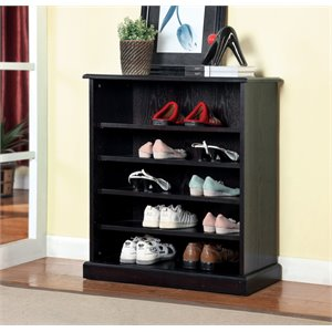 Thurston Doorless Shoe Cabinet