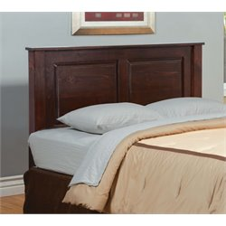 Furniture of America Legales Full Panel Headboard in Dark Cherry