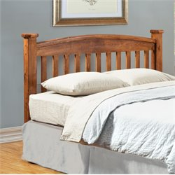Furniture of America Legales King Slat Headboard in Oak