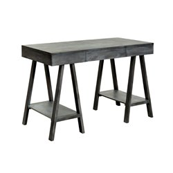 Furniture of America Ayrton Office Desk in Gray