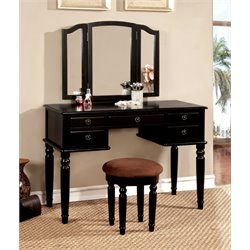 Jocelyn Vanity Set with Stool