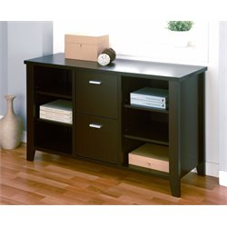 Furniture of America Coyer File Cabinet in Dark Espresso
