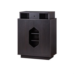 Furniture of America Moline Shoe Cabinet in Espresso