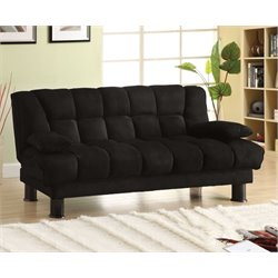 Furniture of America Gladstone Futon in Black