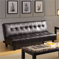 Furniture of America Toowoomba Futon in Espresso