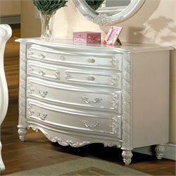 Furniture of America Rollison 4 Drawer Dresser
