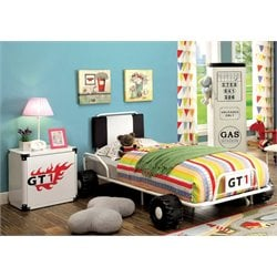 Ramirez Race Car Bedroom Set