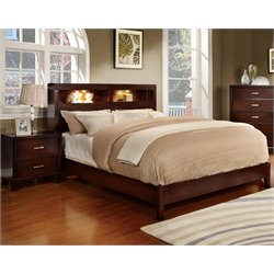 Jenners 2 Piece Bedroom Set in Brown cherry