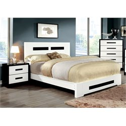 Furniture of America Pilwick 3 Piece Panel California King  Bedroom Set