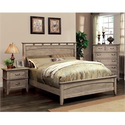 Ackerson 3 Piece Bedroom Set in Weathered oak 7351L