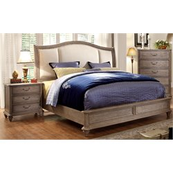 Bartrand 2 Piece Bedroom Set in Rustic Natural Tone 7612