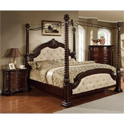 Furniture of America Dimartino 3 Piece California King Bedroom Set