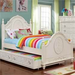 Aneissa Twin Bed in White