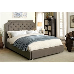 Nina Bed in Gray