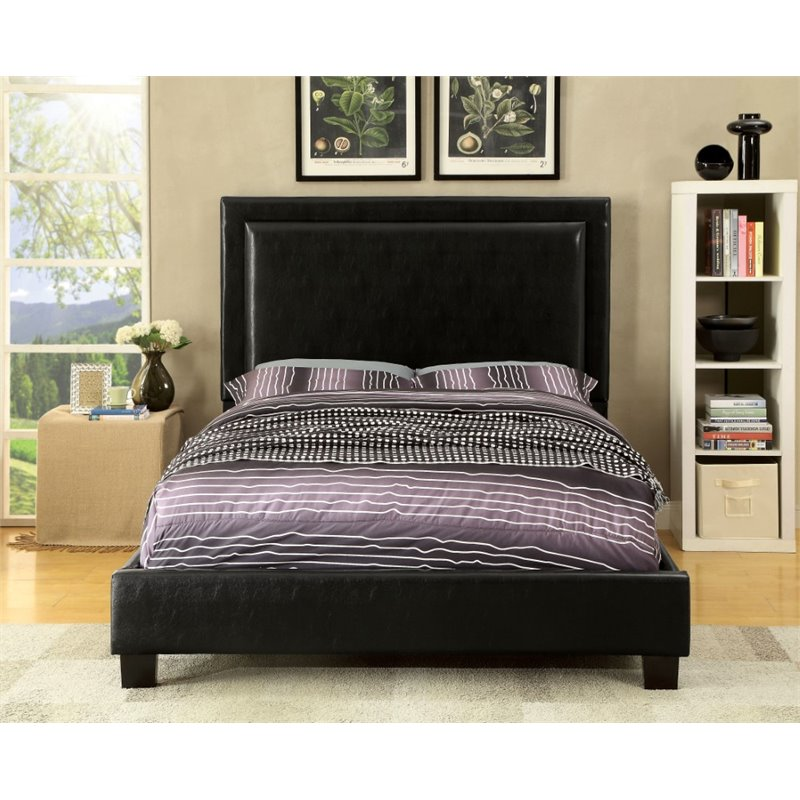 Furniture Of America Shiloh Twin Bed In Black
