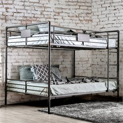 Bryon Bunk Bed in Antique Black
