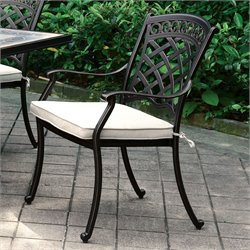 Furniture of America Donell Outdoor Dining Chair