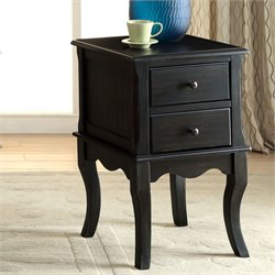 Furniture of America Ceola End Table in Black