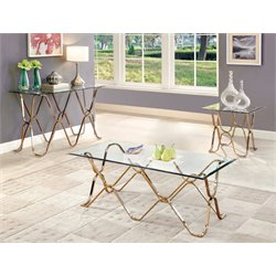 Hobbs 3 Piece Coffee Table Set