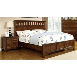 Alred 2 Piece Bedroom Set in Cherry
