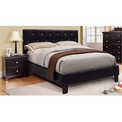 Kylen 2 Piece Bedroom Set in Black