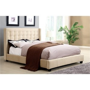 Jayda Bed in Ivory