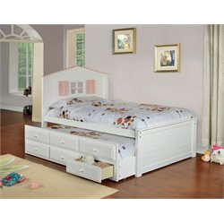 Lorna Bed with Trundle