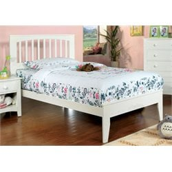 Furniture of America Myriam Twin Platform Bed in White