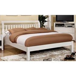 Elena Bed in White