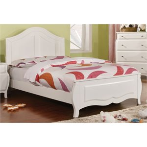Palon Bed in White