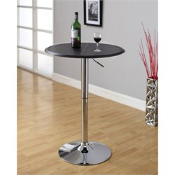 Furniture of America Sauzzy Pub Table in Black