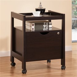 Lilwood Rolling File Cabinet