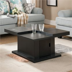 Furniture of America Paterson Coffee Table in Black
