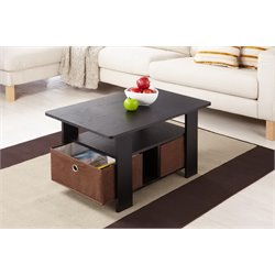 Furniture of America Tracy Coffee Table in Brown