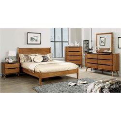 Farrah Bed in Oak