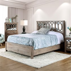 Elyssa Bed in Rustic Natural Tone