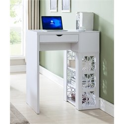 Furniture of America Therona Contemporary Standing Desk in White