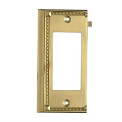 Elk Lighting Clickplates End Plate in Brass