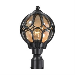 Elk Lighting Madagascar Outdoor Post Light in Hazelnut Bronze