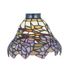 Elk Lighting Mix-N-Match Wisteria Glass Lamp Shade