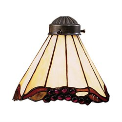 Elk Lighting Mix-N-Match Stained Honey Dune Glass Lamp Shade