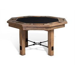Sunny Designs Puebla Game Table in Driftwood