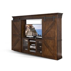 Sunny Designs Santa Fe Entertainment Center in Dark Chocolate
