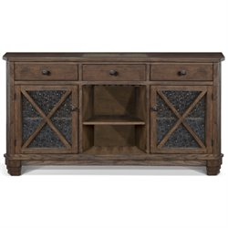 Sunny Designs Savannah Buffet in Antique Charcoal