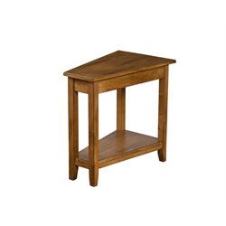 Sunny Designs Sedona End Table in Rustic Birch