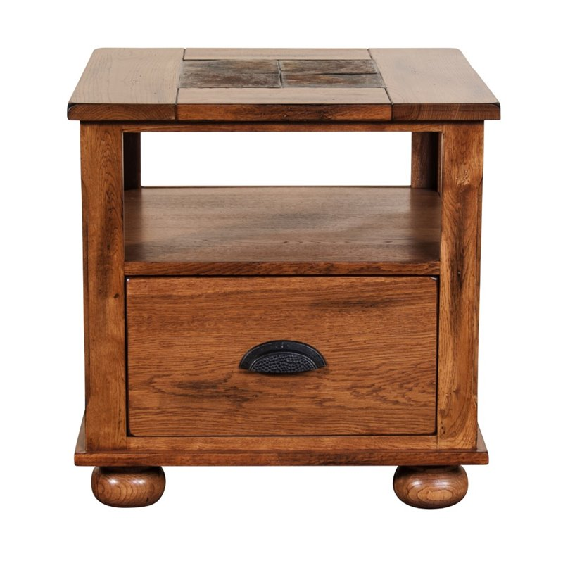 Sunny Designs Sedona End Table in Rustic Oak 3163RO E : 1424824 L from www.cymax.com size 800 x 800 jpeg 77kB