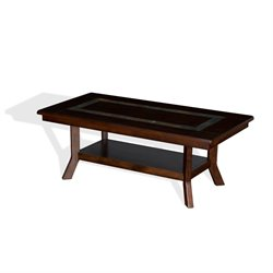 Sunny Designs Coffee Table in Dark Hazelnut