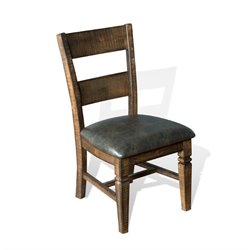 Sunny Designs Homestead Ladder Back Dining Chair in Tobacco Leaf