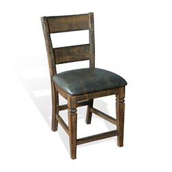 Homestead Ladderback Bar Stool in Tobacco Leaf