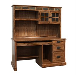 Sunny Designs Sedona Computer Desk in Rustic Oak